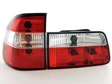 Coppia Fari Fanali Posteriori Tuning BMW serie 5 E39 Touring 95-00, cromati