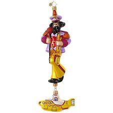 "Radko Yellow Submarine John 9"" 1019037 Beatles Ornament NWT"