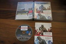 ASSASSIN'S CREED II  GAME OF THE YEAR EDITION + ASSASSIN'S CREED   --   pour PS3