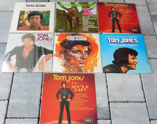 LOT 7 LP TOM JONES she's a lady GREEN GRASS OF HOME body and soul NEW PUPPETEER
