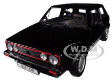 VOLKSWAGEN GOLF 1 GTI BLACK 1/18 DIECAST MODEL CAR BY WELLY 18039