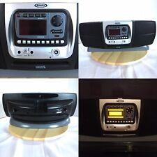Jensen Jbx100Sr Sirius Satellite Radio Boom Box + Receiver + Charger No Antenna