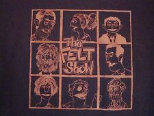 The Felt Show Puppets Sex Therapy TV Show Funny TV T Shirt M