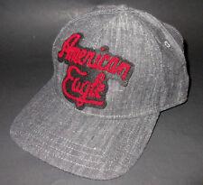 MENS AMERICAN EAGLE SNAPBACK DARK GRAY HAT ADJUSTABLE CAP ONE SIZE 3e8bfa4896b