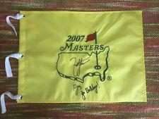 Zach Johnson Signed 2007 Masters Flag Original Packaging
