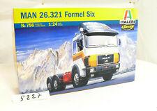 Italeri 756  MAN 26.321 Formel Six  Truck LKW  Bausatz 1:24 - OVP