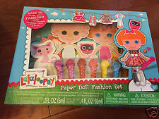 NIP Lalaloopsy Paper Doll Fashion Set