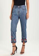 Desigual women's Lolita denim cropped jeans Size 10