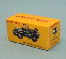 Boite neuve Dinky Toys Jeep Hotchkiss willys réf: 80B