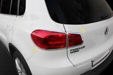 Pour VW Volkswagen Tiguan 2012-2015 Chrome arrière Tail Light Trim Set (4 pièces)