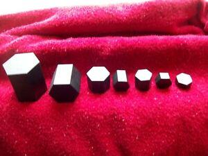 Large Hexagon 2000 gram  Weight Set - 7 Pieces
