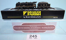 GRAHAM FARISH 'N' 372-577 LMS BLACK ROYAL SCOTS STEAM LOCO BOXED *DCC FITTED*