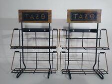 Tazo Tea Display Racks Store Box Shelves