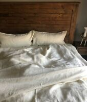 Linen DUVET COVER COMFORTER COVER  Natural 100% Flax Linen Bedding Washed Soft