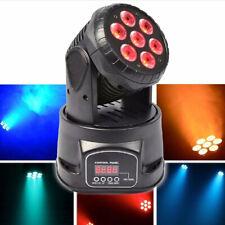 4IN1 LED Moving Head Disco Stage Nightclub Party Light Mini Lighting Black