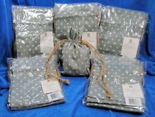 """Madeline Collection Jewelry Bags Blue Grey Back 6"""" X 8"""" 5 Packages 40 Total Bags"""