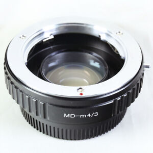 0.72x Focal Reducer Speed Booster Minolta MD mount lens to Micro 4/3 Adapter