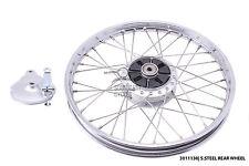 S.steel Rear wheel honda C50 C65 C70 Passport C90 C100 C102 C105 CM90 CM91 CD50