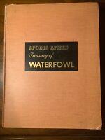 Sports Afield Waterfowl Ducks Birds Cartwright Illustrated Color30+ Augus Shoett