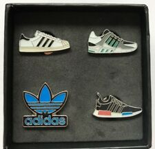 Emaille 4er Pin Set! Sneaker adidas Originals - Neu - OVP