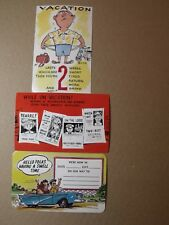 VINTAGE POSTCARDS COMIC DEXTER PRESS C. 1950'S 1 SIGNED TONY ROY RARE