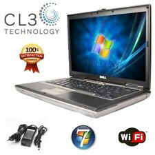 DELL Laptop Latitude Computer Windows 7 Pro Core Duo DVD WiFi 15.4' LCD with 4GB