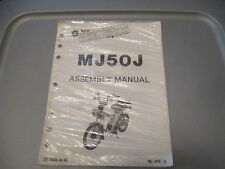 NOS Yamaha OEM Assembly Manual 1982 MJ50J MJ50 LIT-11666-02-99