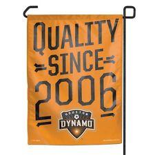 """Houston Dynamo 11""""x15"""" Garden Flag"""