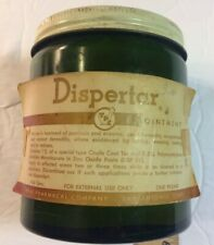 Vintage Midcentury Dispertar - Texas Pharmacal Co. - Topical Ointment 1 lb. Jar