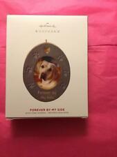 Hallmark Keepsake Ornament 2019 Forever by my side dog pet memorial concrete pup