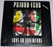 "Philippines PSEUDO ECHO Love An Adventure 12"" EP Record"