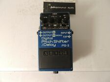 Boss PS-3 Pitch Shifter/Delay Effects Pedal Harmonizer Shift Free USA Shipping