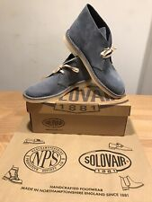 NPS SOLOVAIR Blue Suede Chukka Desert Boots! Size UK9! New! Only £109.90!