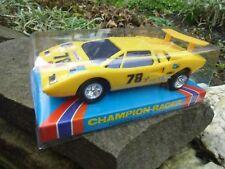 Vintage Roxy Toys No.316 Lamborghini Countach Car Hong Kong Friction in Box