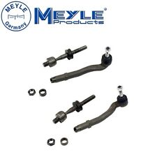 For BMW E39 525i 528i 6cyl Pair Set of Left & Right Steering Tie Rod Meyle