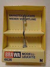 BRAWA #4636 N SCALE STREET LAMP NEW IN ORIGINAL PACKAGE