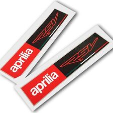 Aprilia Racing style RSV Motorcycle graphics stickers decals x rectangle 2 PCS