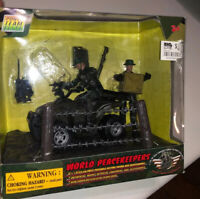 World Peacekeepers Atv Soldier 3 3/4 Inch Figure Set In Box