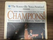 1998 Tennessee Vols Football National Championship Newspaper