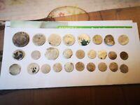 Konvolut Silbermünzen 17. Bis Frühes 20. Jahrhundert, Lot Altdeutschland,