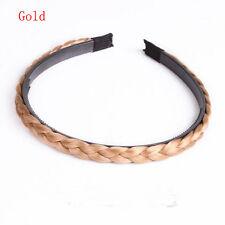 Hairband Hair Accessories Hair Bands Twisted Wig Headband Braided Headband