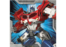 Transformers Party Supplies BEVERAGE NAPKINS Pack Of 16