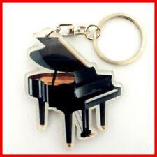 PIANO PORTE CLE! A Queue Collection Instrument Musique Clavier Classic Jazz Noir