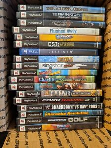 Lot of (17) PlayStation 2 Games...Plus Destiny for PS4