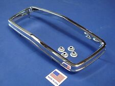 NEW 1968 Mustang Grille Corral w/ Hardware Die Cast Chrome Plated USA MADE!