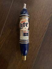 Beer tap handle miller lite