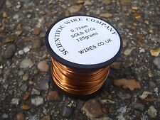 0.45mm - 26 swg ENAMELLED COPPER WINDING WIRE, MAGNET WIre 125GRAM solderable