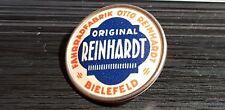 Reinhardt Fahrradfabrik Brosche Zelluloid Tweer Turck - Maße 24mm
