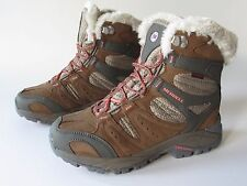 Merrell Kiandra Women's Leather Waterproof Insulated Hiking Outdoor Boots 8