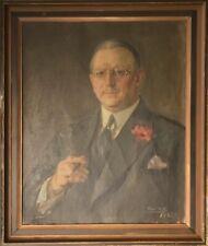 PORTRAIT OF A CIGAR SMOKING MAN